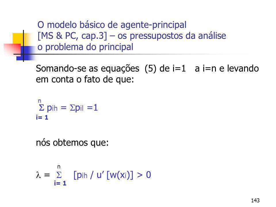  =  [pih / u' [w(xi)] > 0
